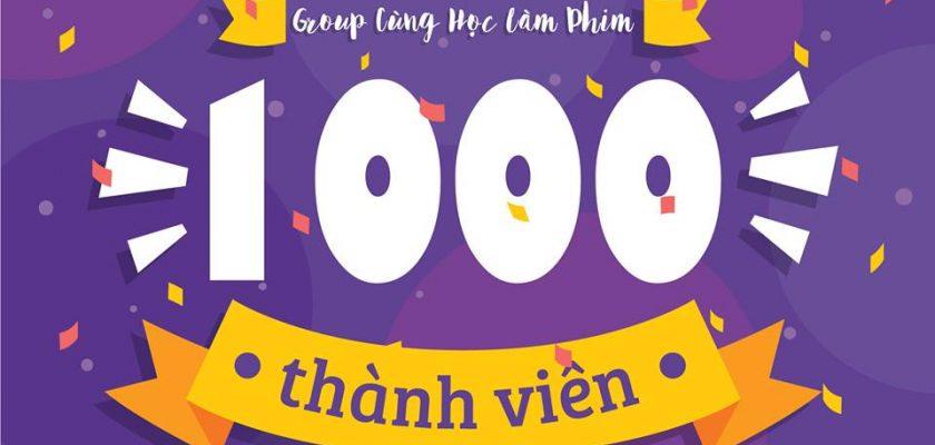 GIVEAWAY CHÀO ĐÓN GROUP 1.000 THÀNH VIÊN 1