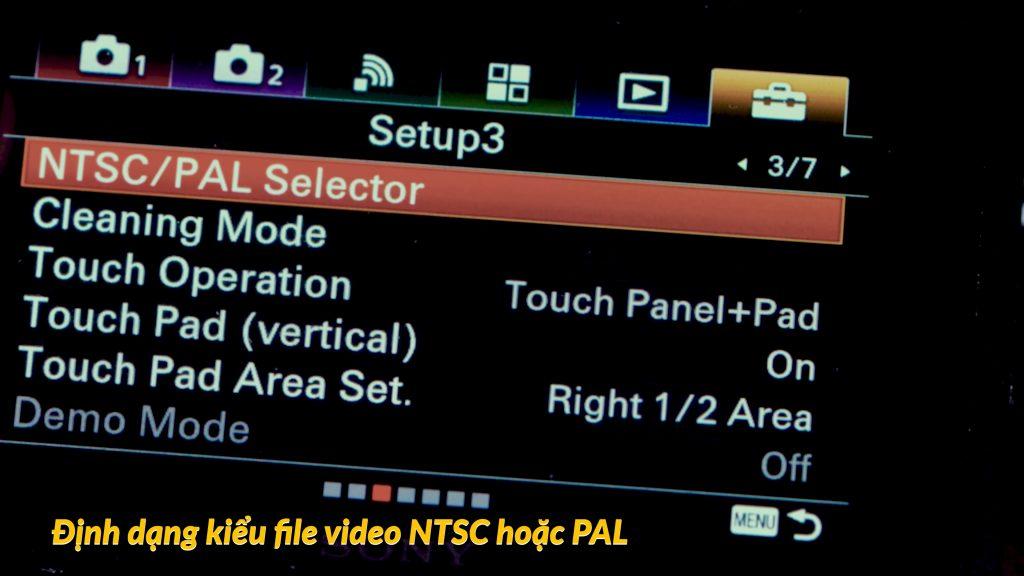 Khi quay phim nên định dạng video hệ NTSC hay là PAL? 5