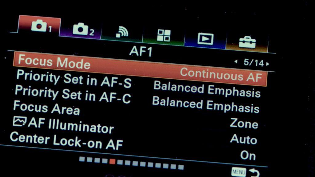 Hướng dẫn setting Sony A6500 để quay video 358