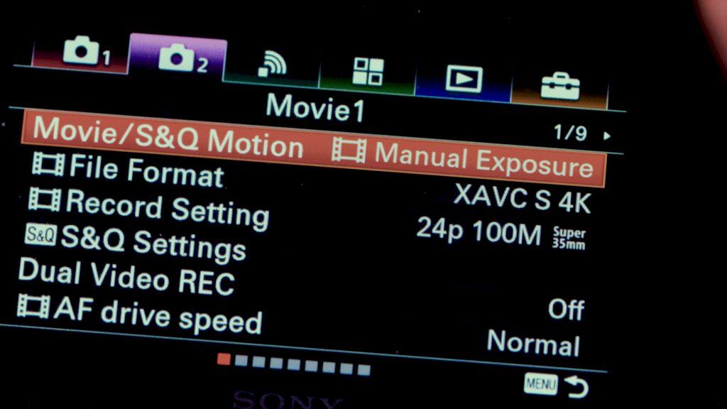 Hướng dẫn setting Sony A6500 để quay video 352