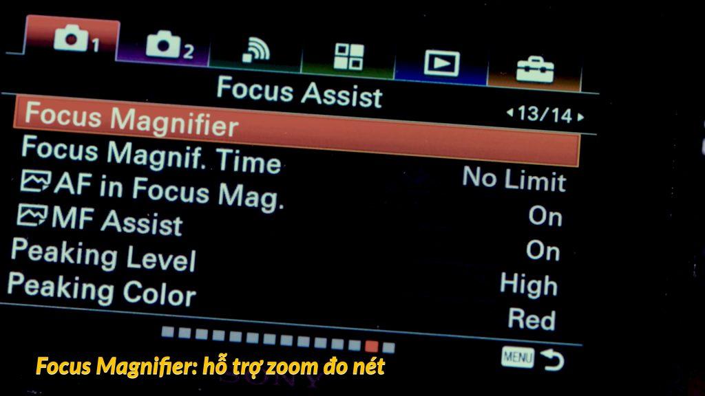 Hướng dẫn setting Sony A6500 để quay video 364
