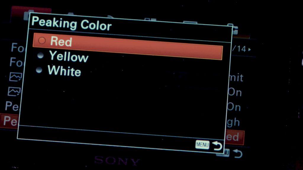Hướng dẫn setting Sony A6500 để quay video 363