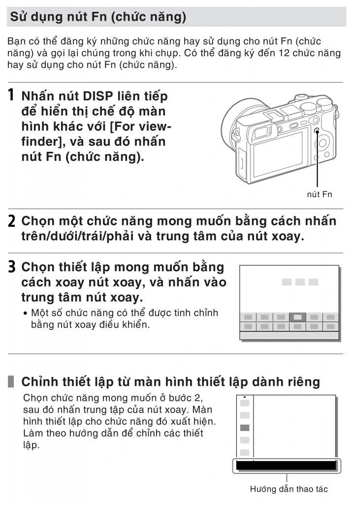 Hướng dẫn setting Sony A6500 để quay video 413