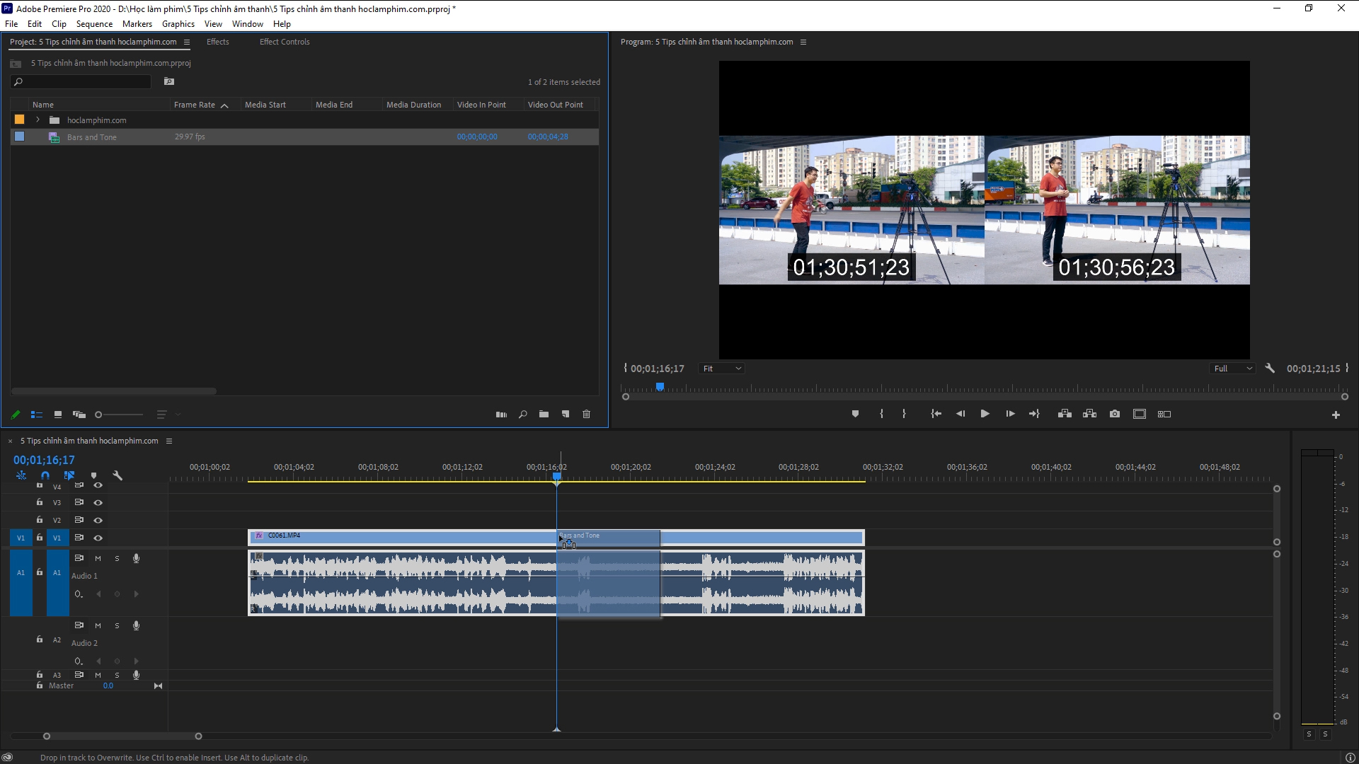 5 mẹo chỉnh âm thanh đơn giản trong Premiere Pro 68